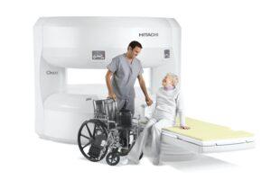 Senior in Open MRI